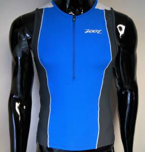 Koszulka triathlonowa Top Zoot Active Mesh blue/white