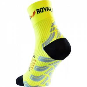 Skarpetki kompresyjne ROYAL BAY® Neon High Cut skarpety żółte