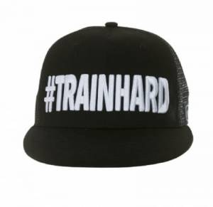 Czapka ZeroD Lifestyle #TRAINHARD triathlon